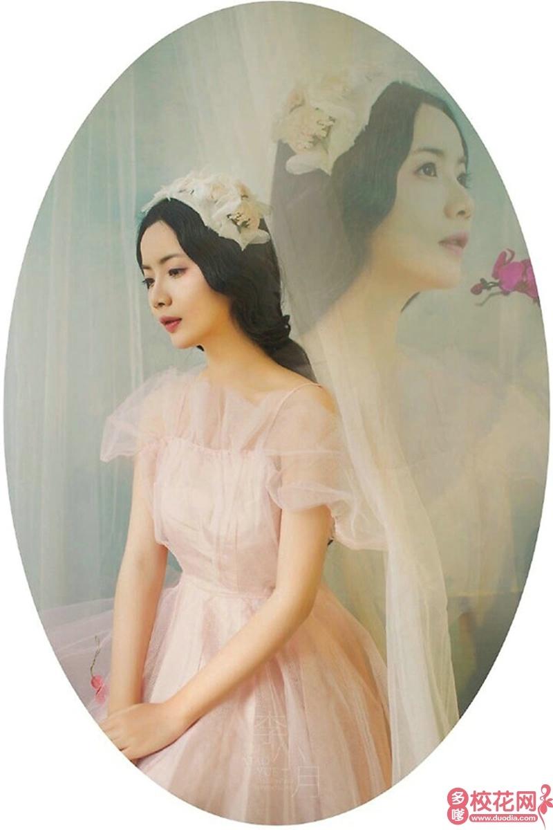 温岭市温中双语学校2018级校花潘艳