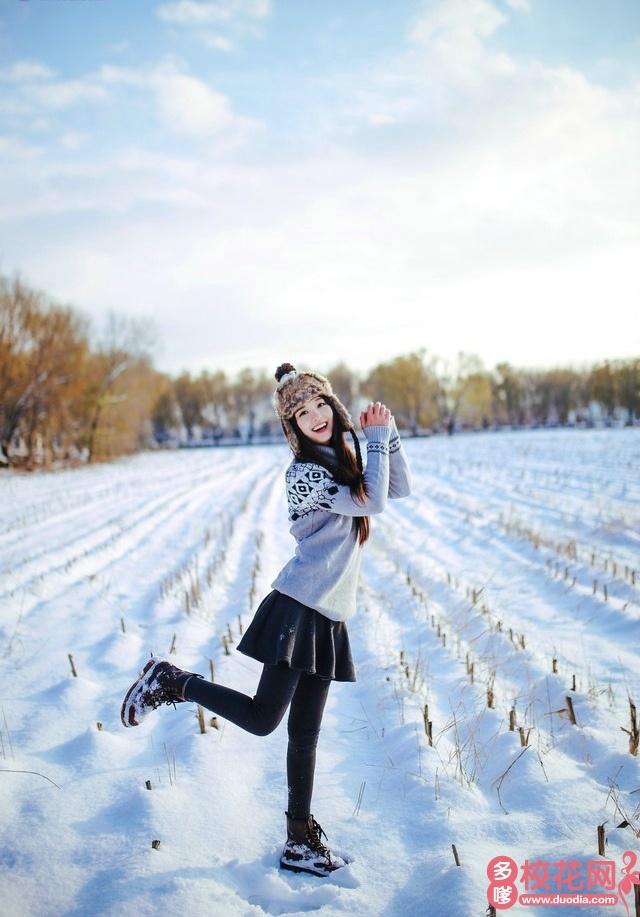 上海市朱行中学2018级校花林娜婷