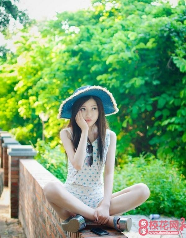 花都区第二中学2019级校花蒋曼妃