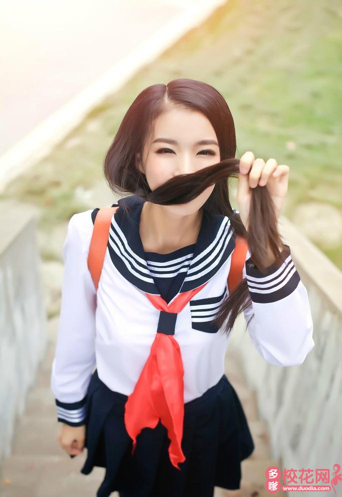 北京市赵登禹中学2018级校花李香赢