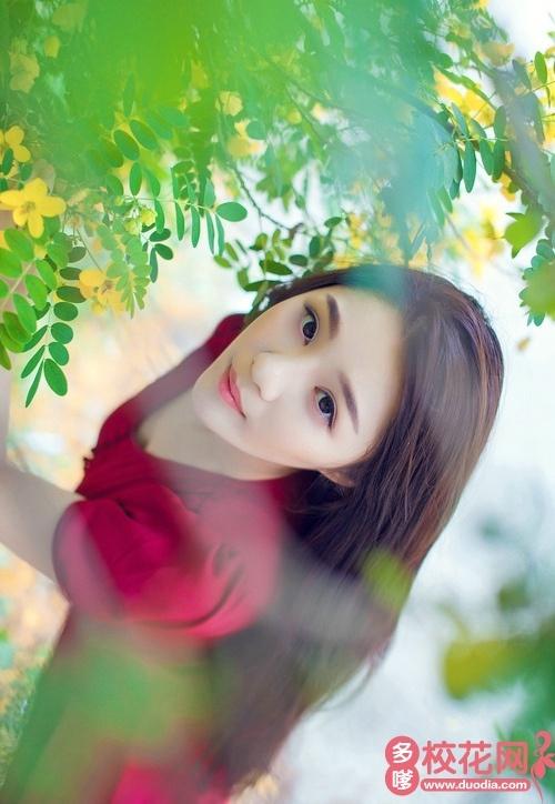 砀山铁路中学2018级校花谢文净