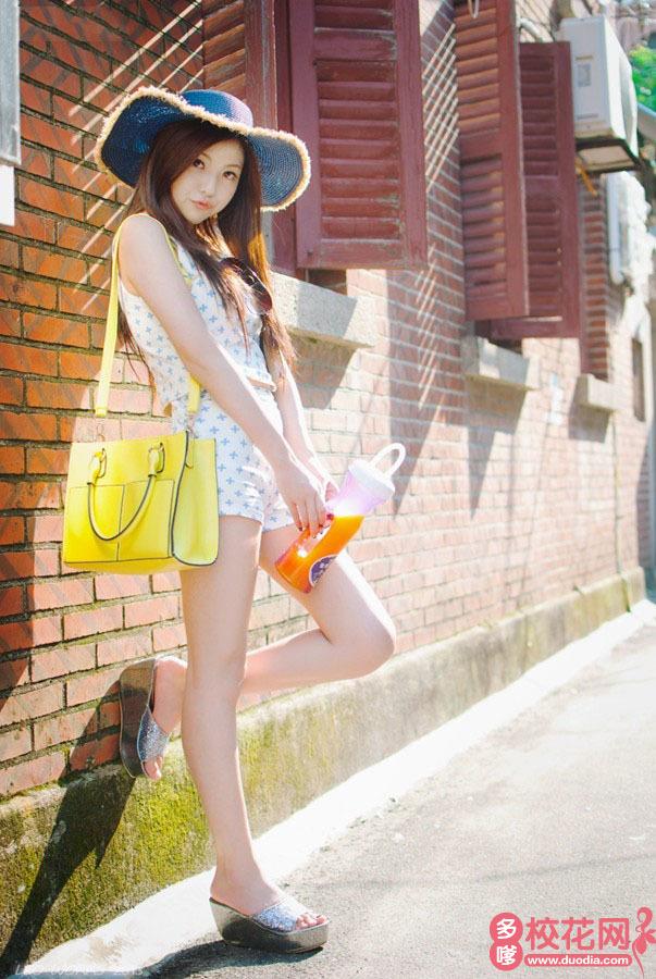 贵州大学校花李甜美