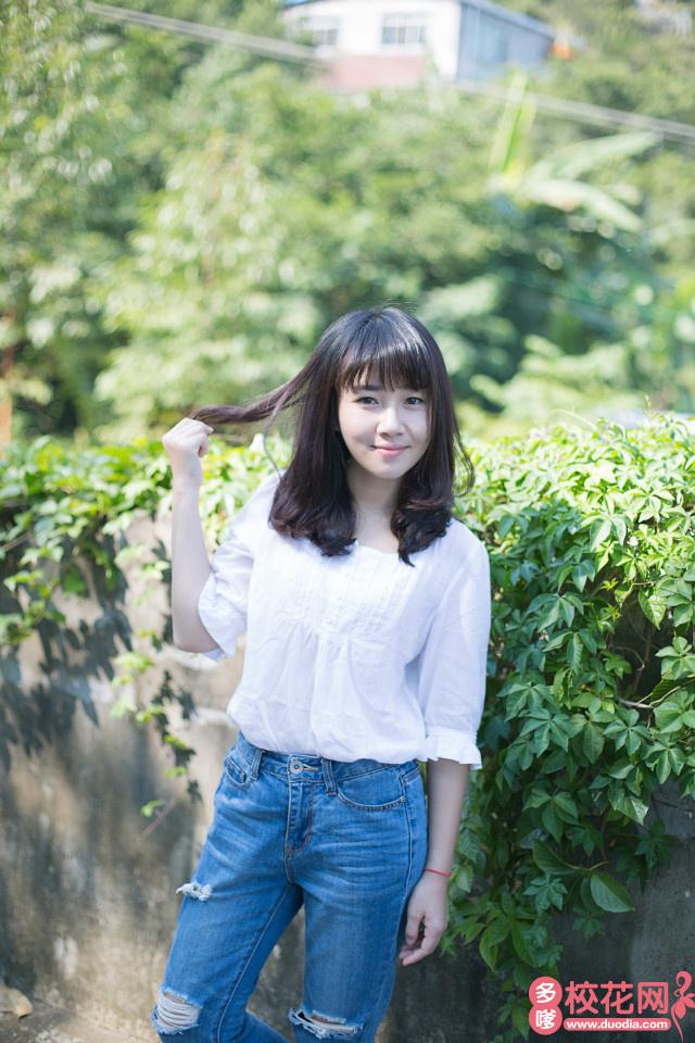 广东技术师范学院2019级校花李娅丹
