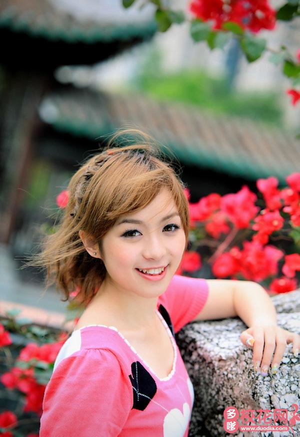 陕西理工大学2019级校花杨晓丽