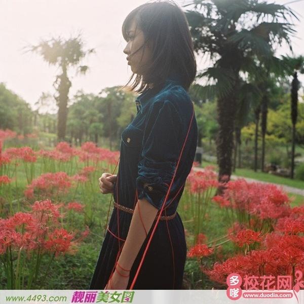 北京电子科技学院2018级校花骆丽霞