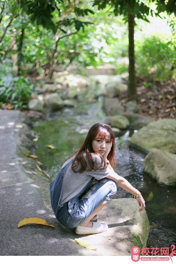 首钢工学院校花蔡荣荣