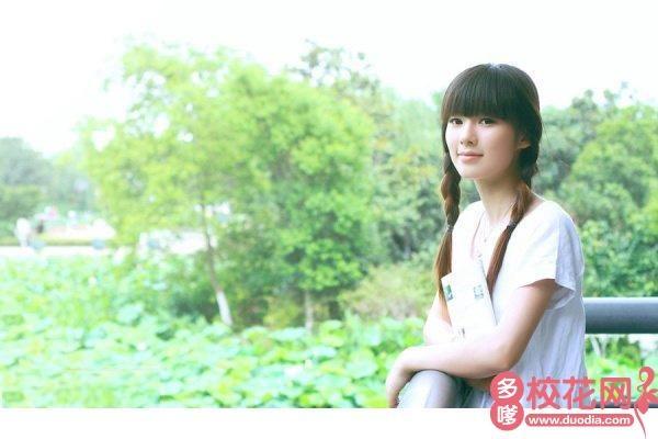 河北工业大学城市学院校花涂筱萱