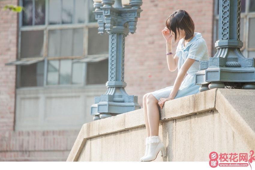 新疆医科大学厚博学院2018级校花童慧娟