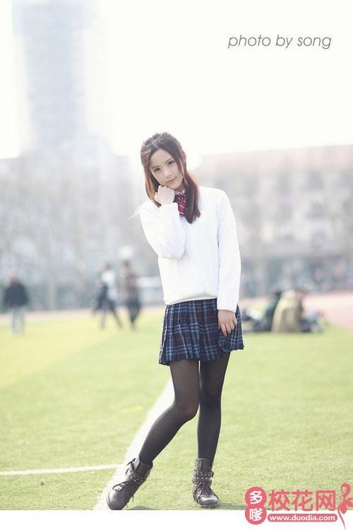 北京石油化工学院校花余雪娇