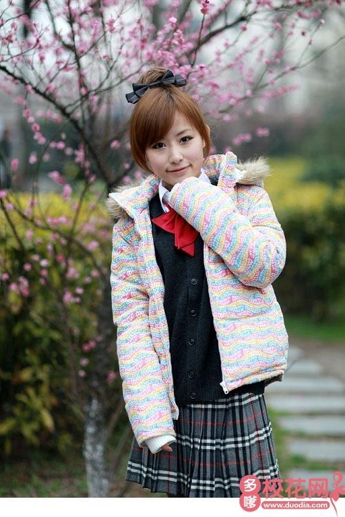 河北科技师范学院校花林娟琳