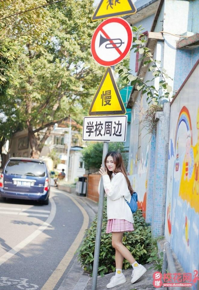 南京信息工程大学校花马澜馨