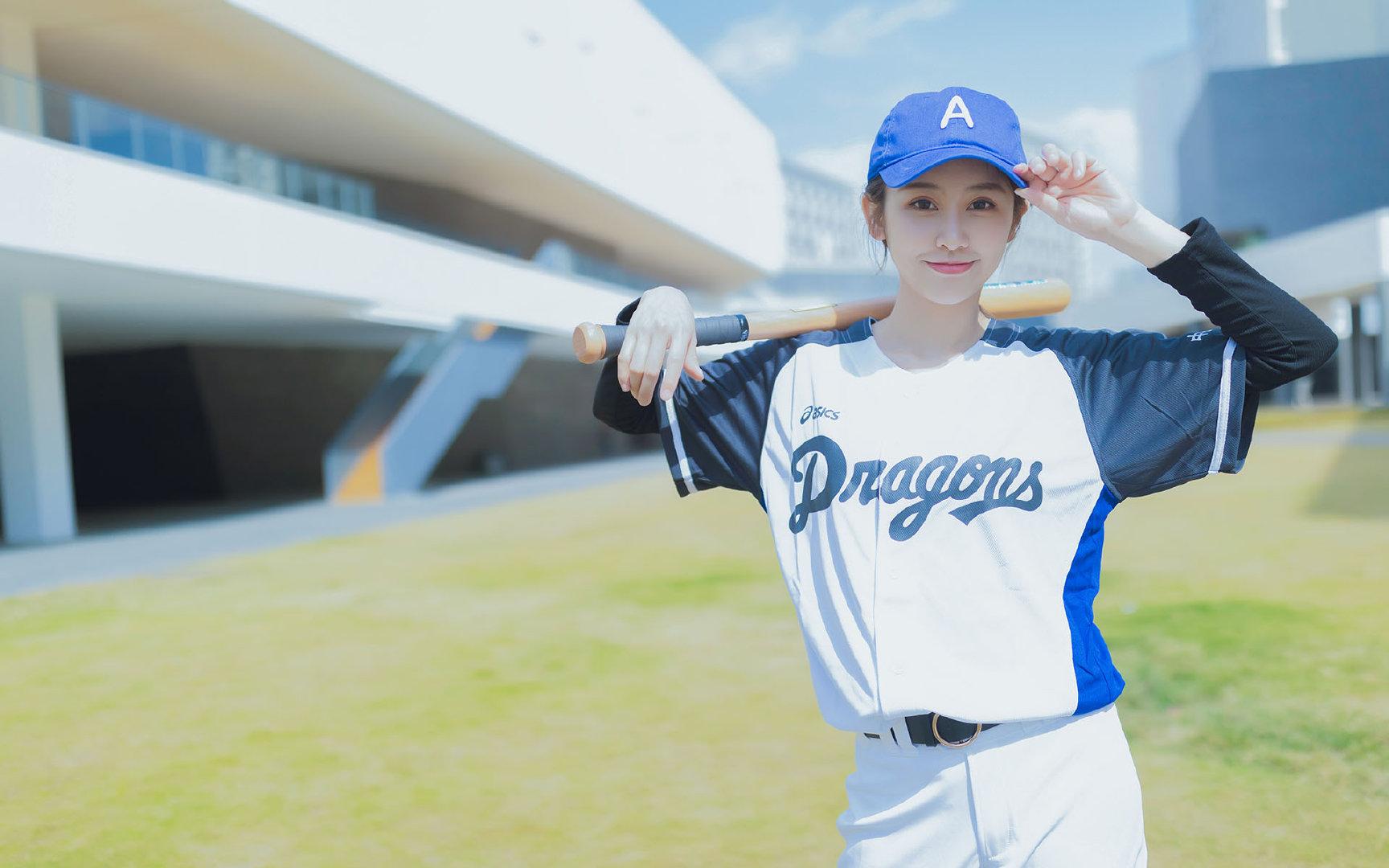 棒球美女超高清写真图片