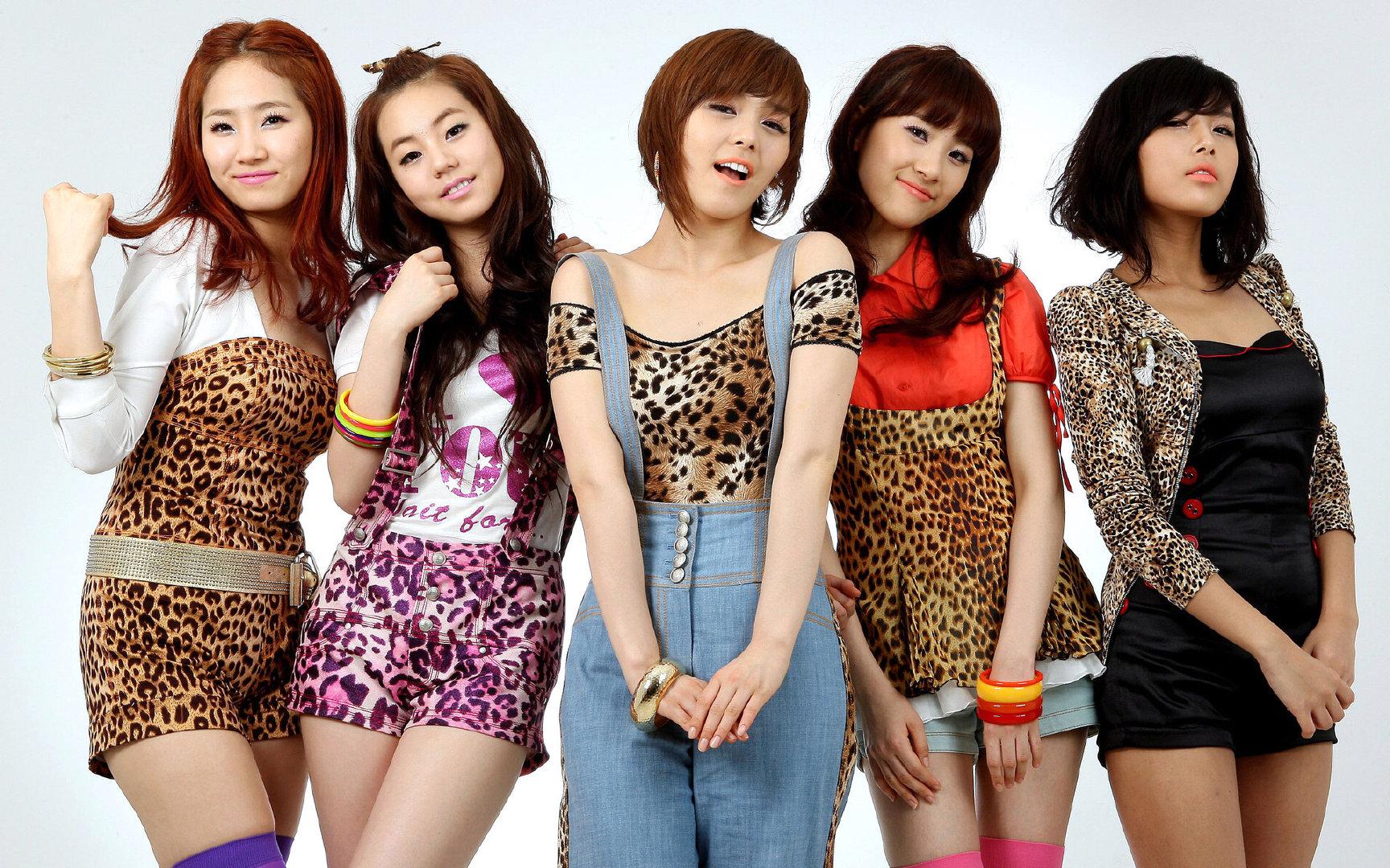 Wonder Girls超高清写真图片