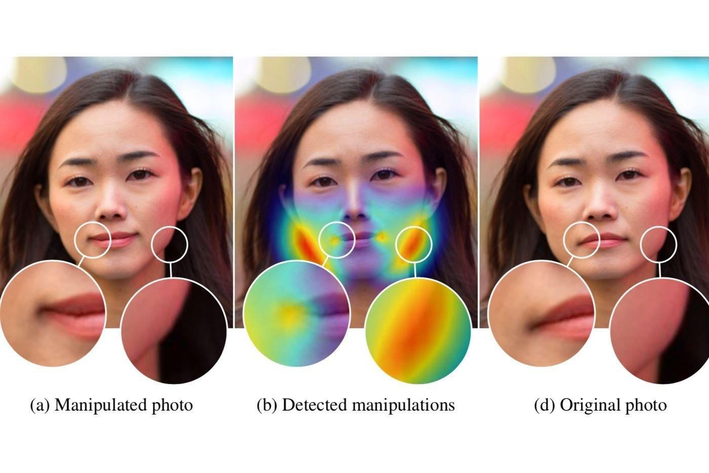 Adobe新研究可以识别ps痕迹