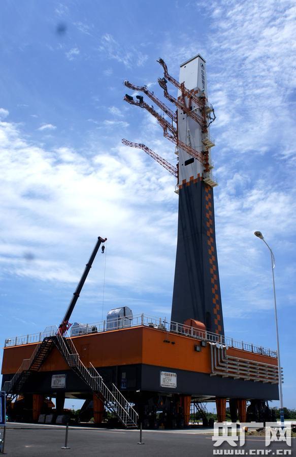 文昌发射场 中国最大直径火箭垂直总装测试厂房首次公开