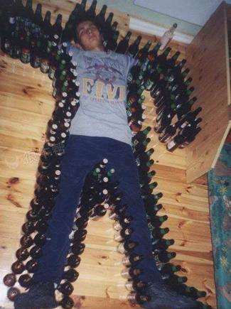 喝太多,真的醉了~