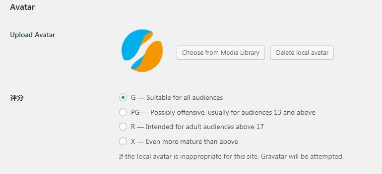 使用WordPress插件实现WordPress自定义头像