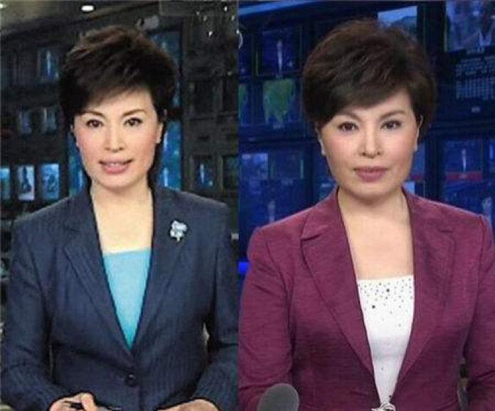 57岁央视女主播李瑞英近照曝光,浓妆红唇与在央视时判若两人[5P]