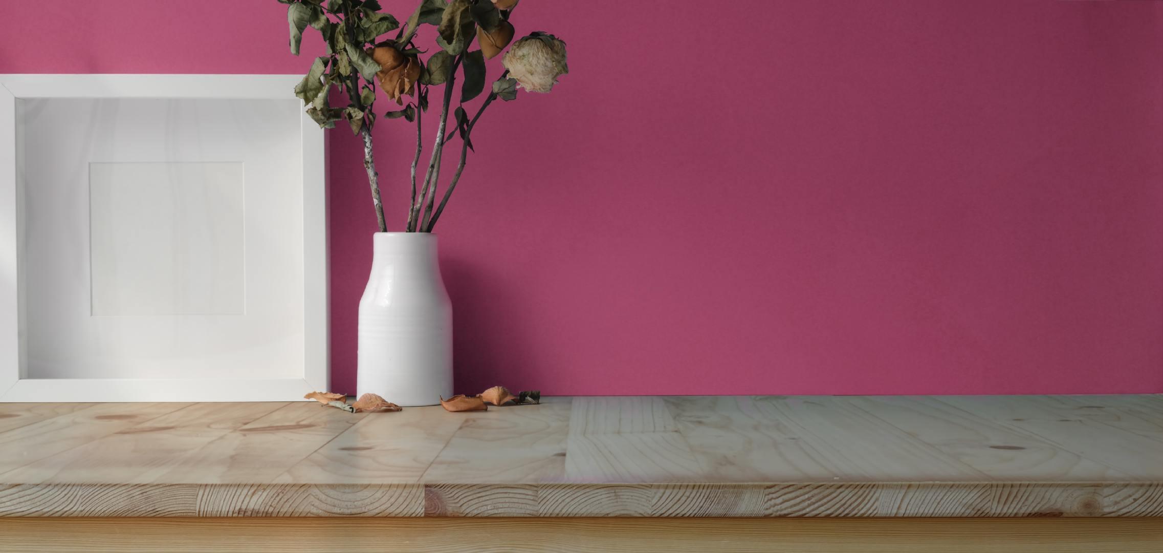 日式桌子上的小清新白色画框高清图集