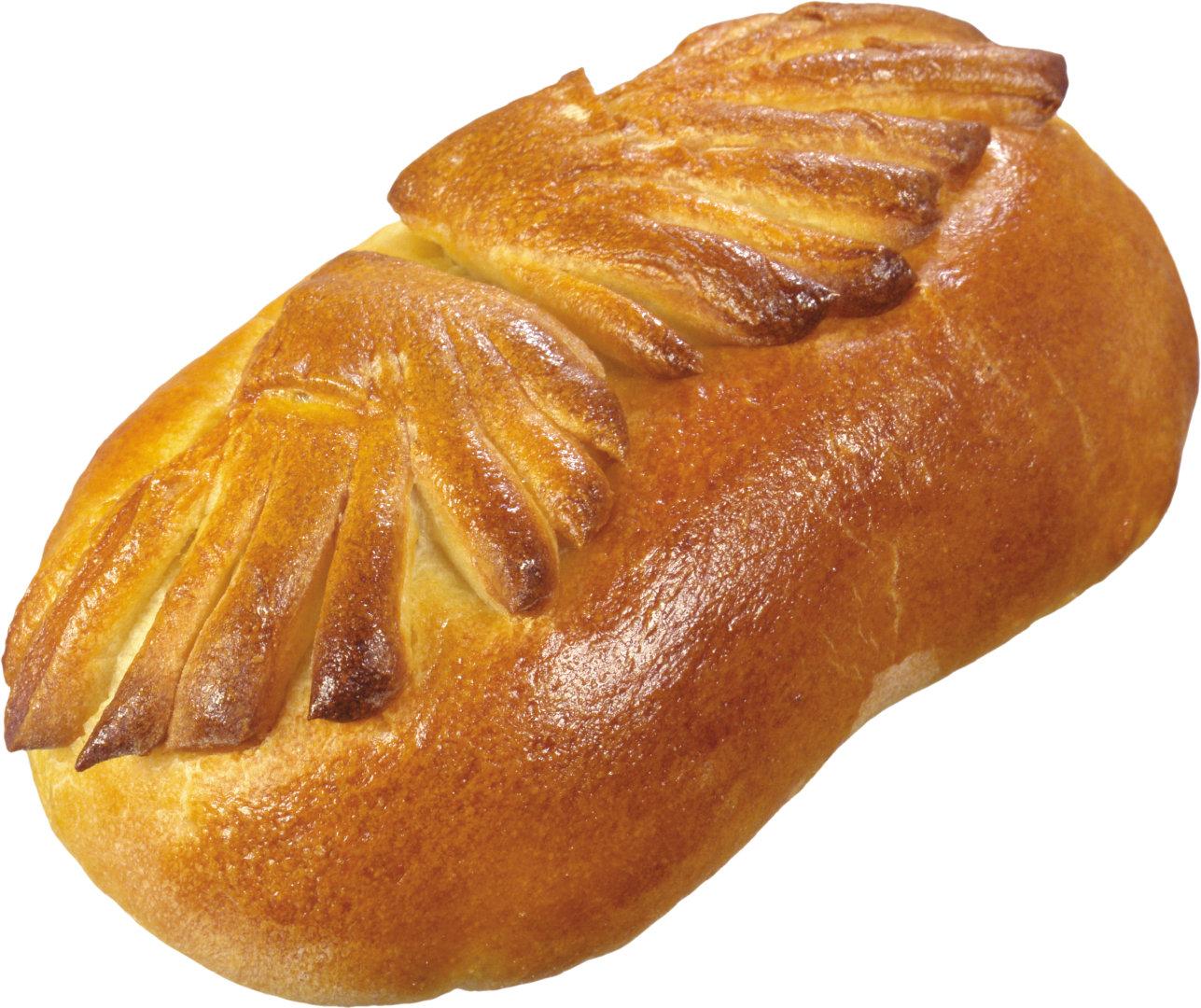 刚出炉的png透明背景的小面包图片素材