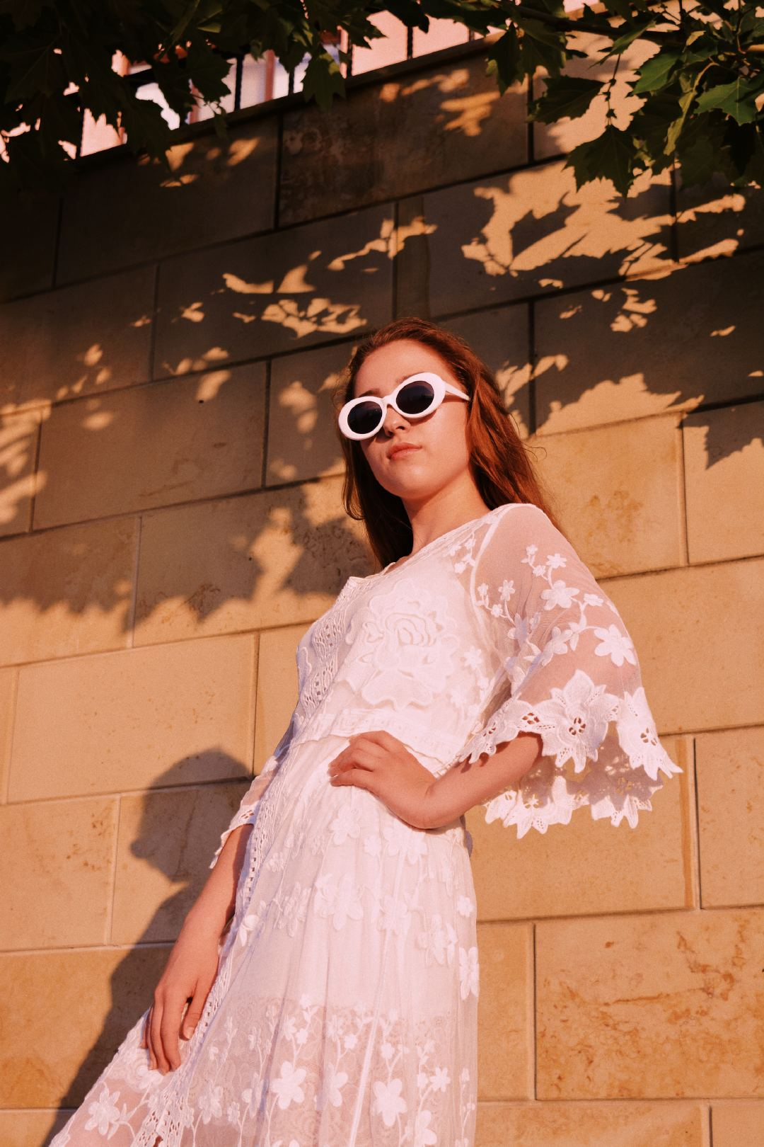 衣品十分时尚的外国女模特高清壁纸大全