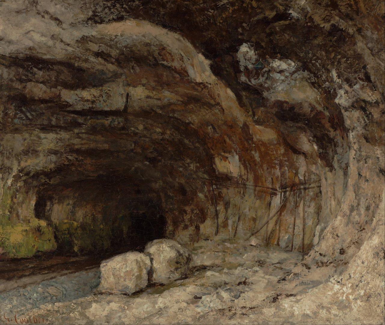 自然形成的洞穴高清桌面壁纸