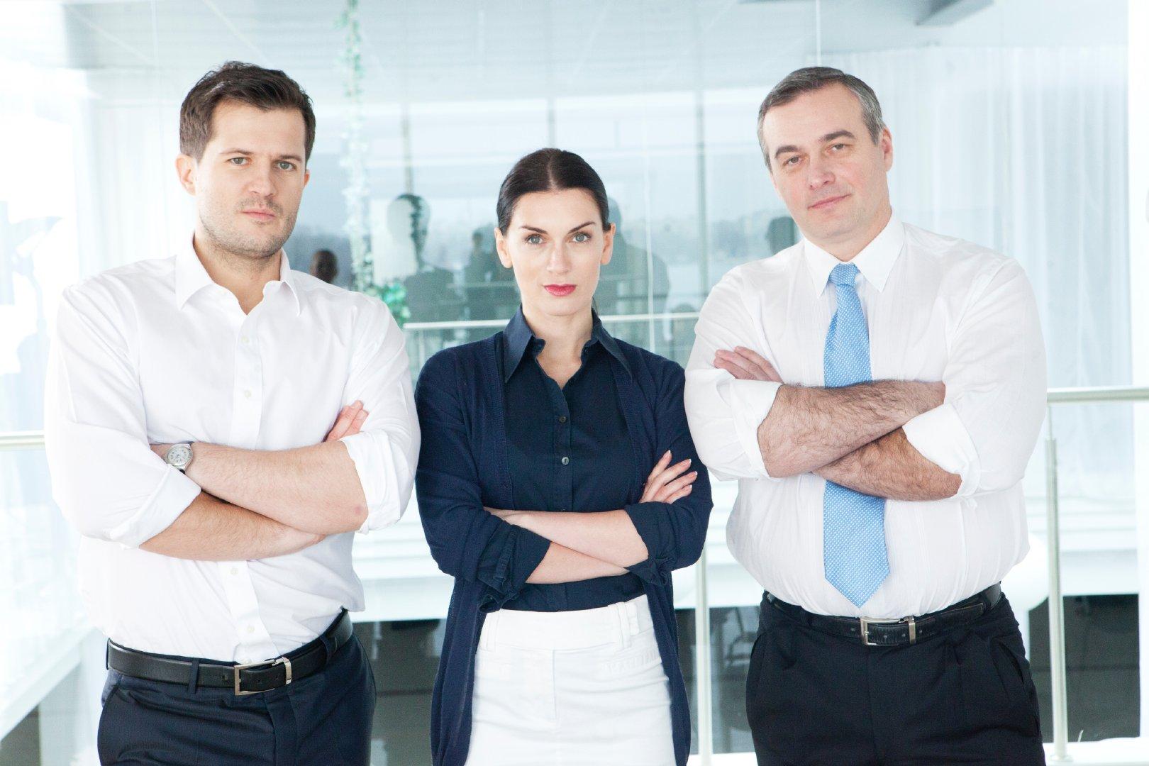 专业且团结的商业团队合影精美图集
