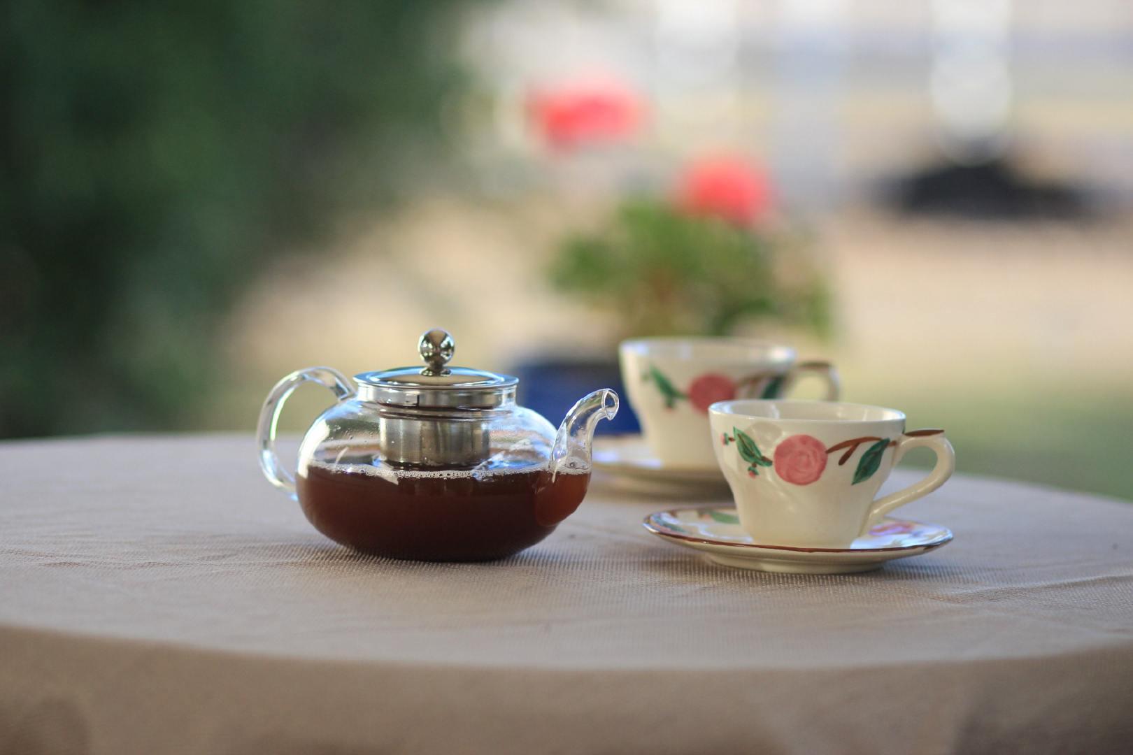 闲暇时刻让人放松的下午茶高清桌面壁纸