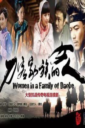 刀客家族的女人电视剧海报