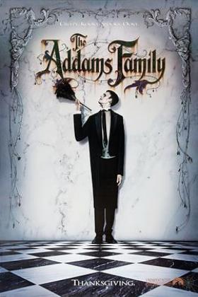 亚当斯一家海报