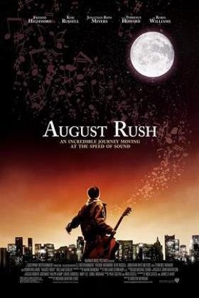 八月迷情海报