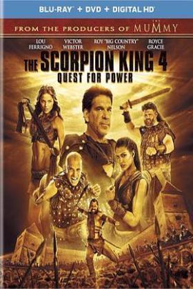 蝎子王4:争权夺利海报
