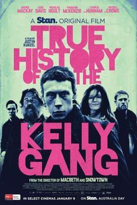 凯利帮的真实历史海报