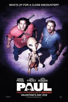 外星人保罗海报
