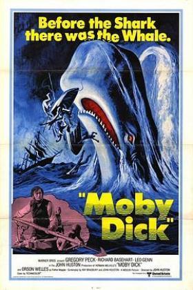 白鲸记1956海报
