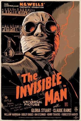 隐形人1933海报
