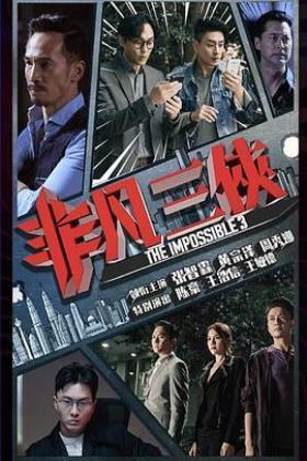 非凡三侠粤语版海报