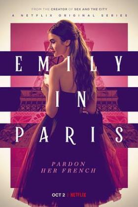 艾米丽在巴黎第一季海报