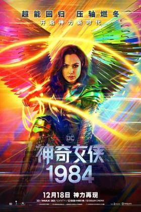 神奇女侠1984海报