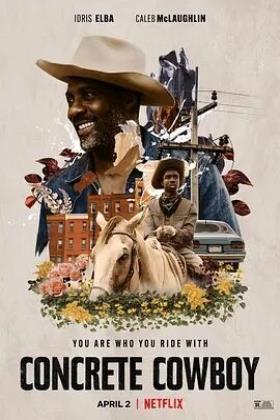 贫民区牛仔海报