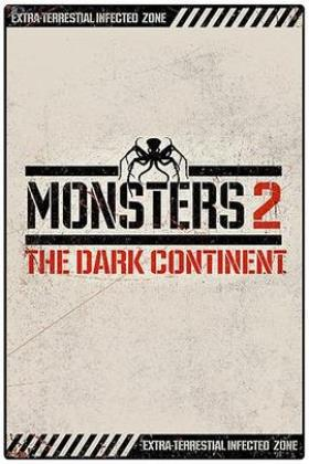 怪兽黑暗大陆海报