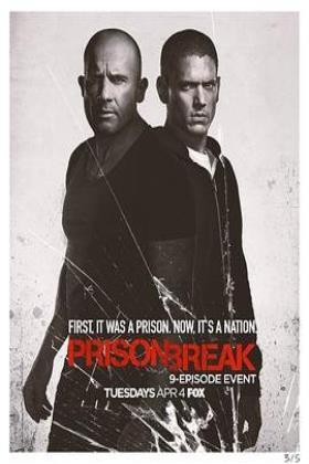 越狱第五季海报