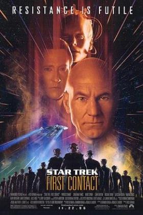 星际迷航8:第一次接触海报