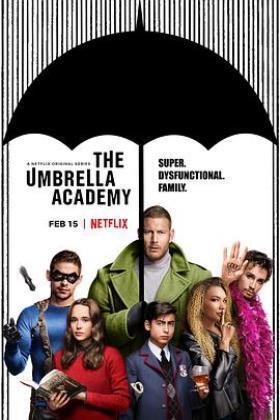 伞学院第一季海报