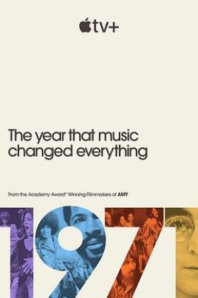 1971:音乐改变世界的一年海报