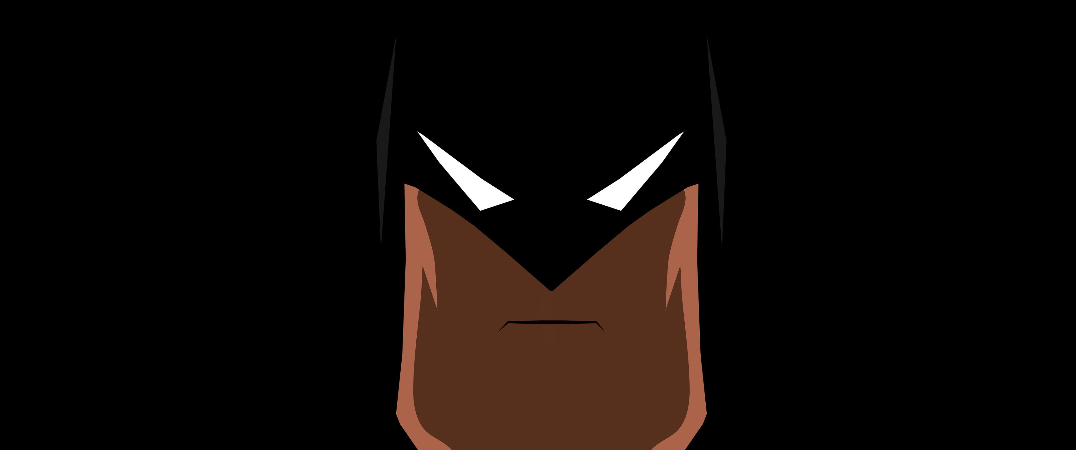 蝙蝠侠简约3440x1440壁纸