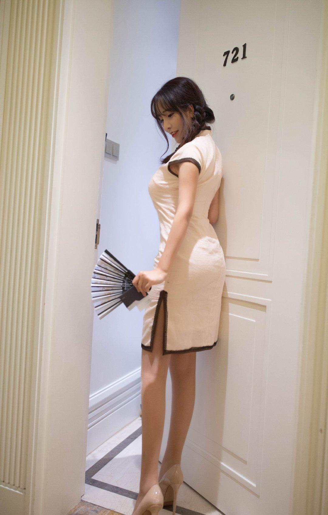模特陶喜乐_lele韵味旗袍写真 第6张