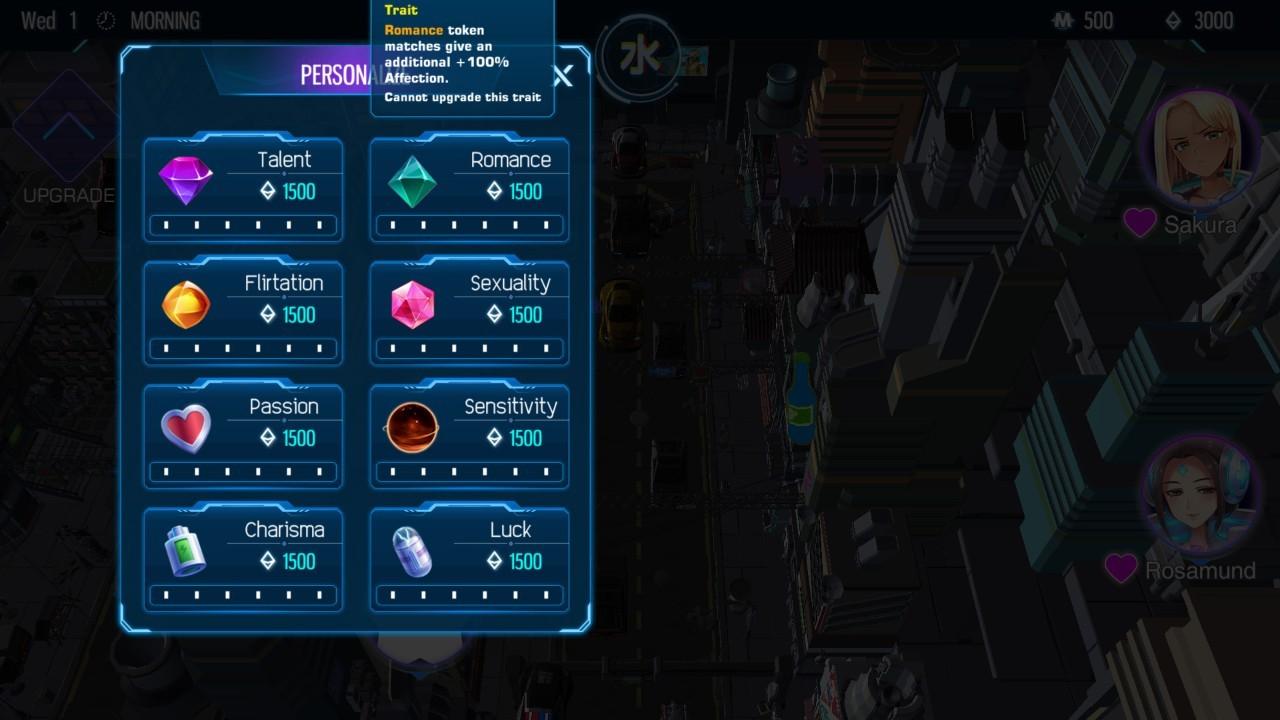 Steam成人新作《Cyber Crush 2069》极好评上市,只要白菜价且Bug没那么多插图8