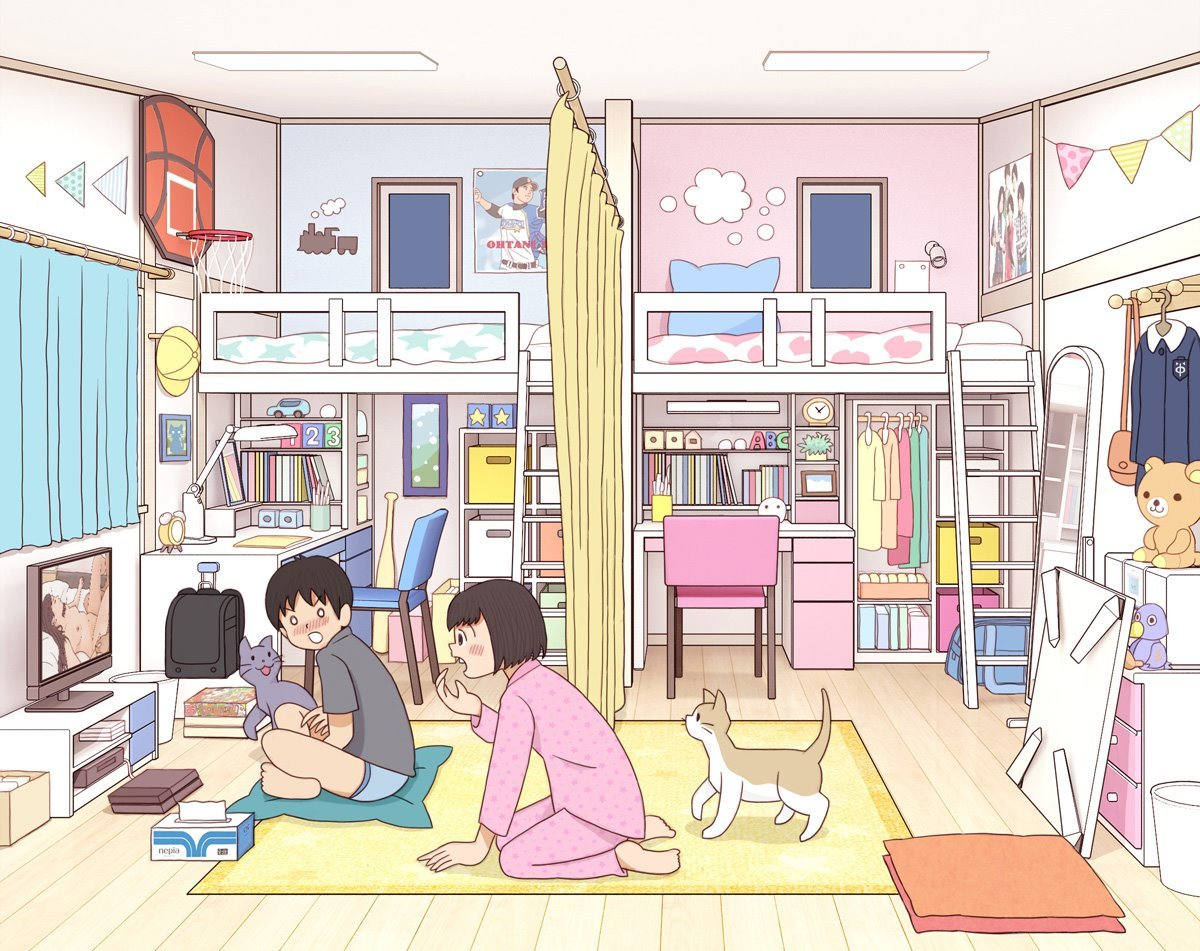 大家来找茬!绘师创作《高中生的青春期》眼尖网友发现:男生好色?插图21