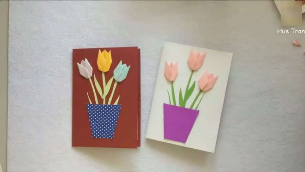贺卡教程| 生日快乐卡| 花卡模板